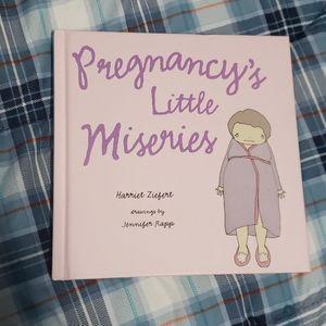 Pregnancy's Little Miseries hardback book gift